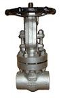 Stahl-Absperrschieber 2500 lbs sw